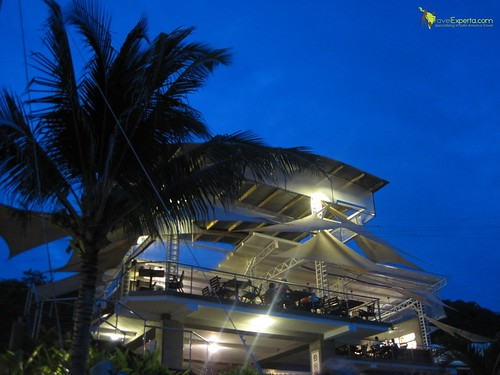 fine dining sunsal beach el salvador night fall