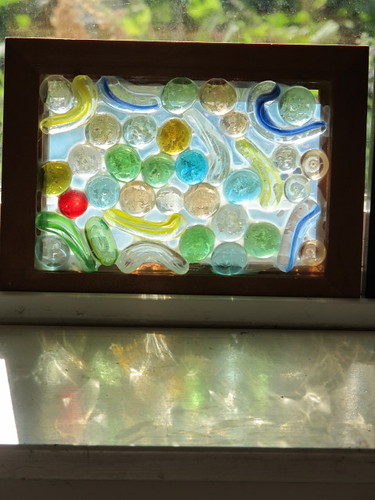 R's Glass Mosaic