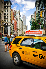 New York - Personal Best (GDVisuals) Tags: new york building st yellow state cab ave empire 7th 23rd