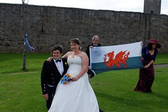 Welsh photo-bomb! (ekmCronin) Tags: wedding for sept 3rd teasers