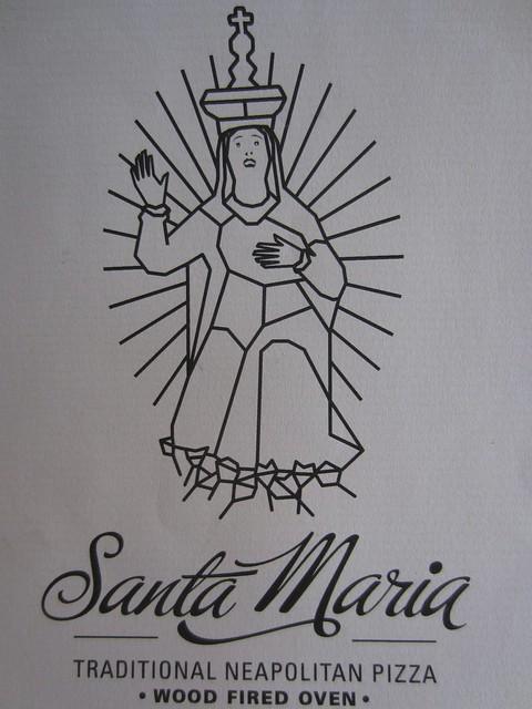 Santa Maria Ealing logo