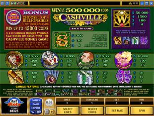 Cashville Slots Payout