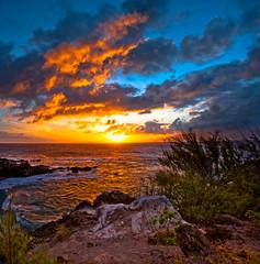 Puna Point Maui (mojo2u) Tags: ocean sunset hawaii maui kapalua nikon2470mm nikond700 punapoint