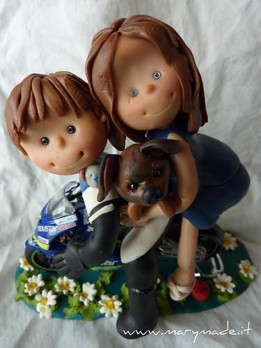 cake topper con moto di Jessica, una produzione marymade.it di Mary Tempesta, foto su Flickr