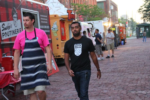 Walking The Line (of Food Trucks)