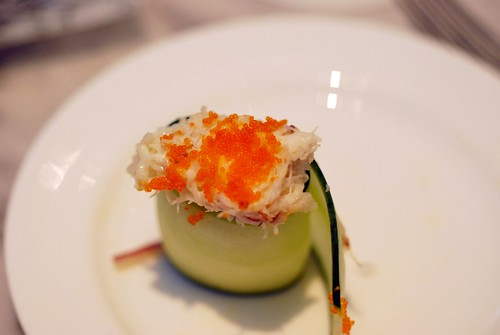 Crab & cucumber