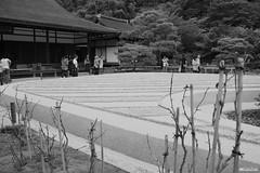 Ginsyadan, Ginkakuji Temple (D.M.C.M ) Tags: blackandwhite japan temple sand kyoto asia noiretblanc sable wave unesco  asie japo myfavorites vague kansai japon nihon  ginkakuji   ajia shinden worldheritagesites    mesprfres japn      canon450d dmcm kurotoshiro   japn sinjeon ginsyaden