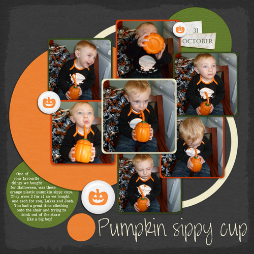 Pumpkin Sippy Cups by Lukasmummy