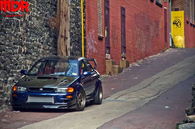Blue Ridge Tire >> GC8 ¦ Work 18x10 ¦ 275/35s ¦ STi Powered ¦ As seen by MDR ...