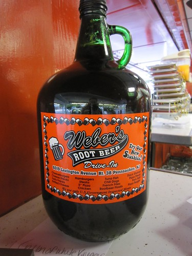 Weber's Root Beer Bottle To Go
