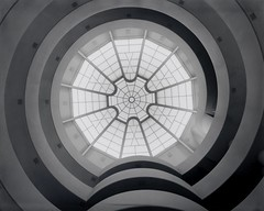 """Solomon R. Guggenheim Museum"" by Julius Shulman (1964)"