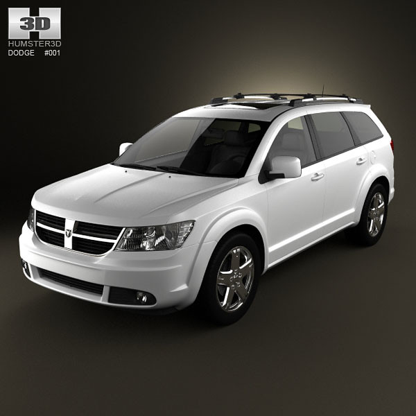family detail car by us 3d high model 4x4 quality wheels journey dodge luxury 2009 detailed humster3d