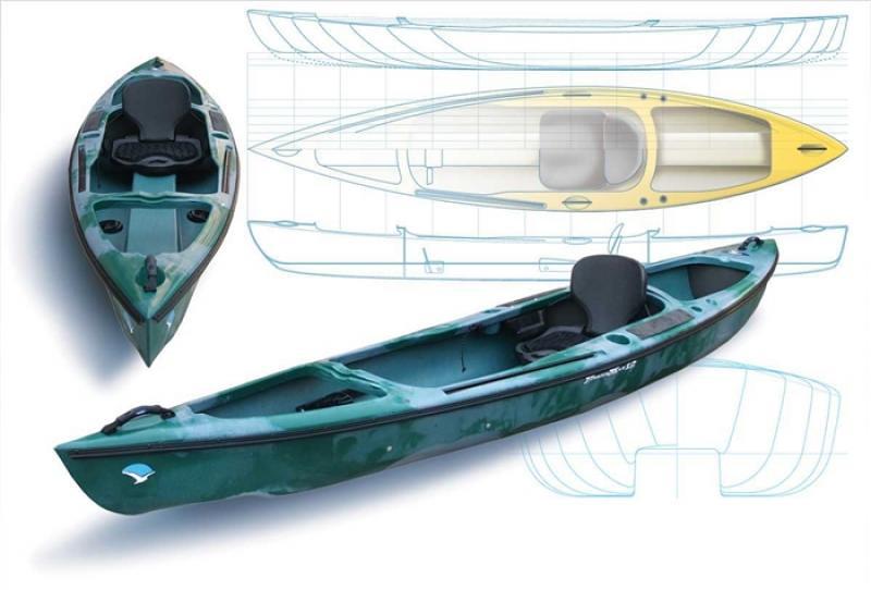 Fisherman kayak