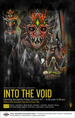 IntoTheVoid flyer by Michael C. Hsiung