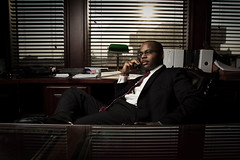Attorney Aaron Watson (matthewcoughlin) Tags: sunset canon phone desk shades business suit 7d westcott softbox lawyer attorney 430exii