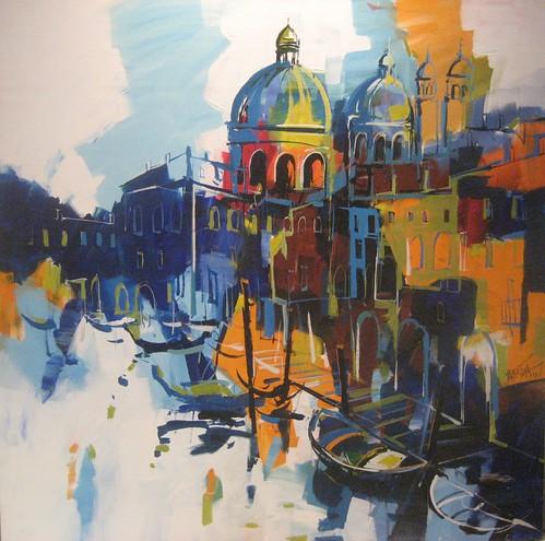 Venice   -  Painting - Original