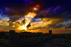 Nagoya Days (/\ltus) Tags: sunset japan lumix panasonic nagoya aeon lx5 nothdr dmclx5