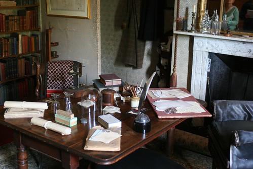 Charles Darwin's study at Down House