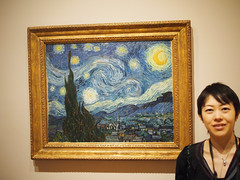 Lisa and Starry Night