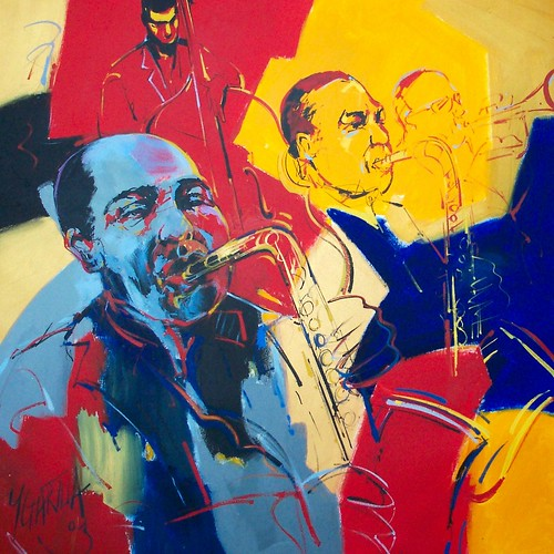 Jazz Group - Modern Impressionism - Painting