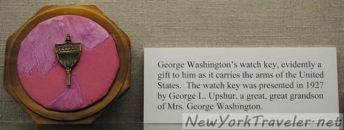George Washington Watch Key