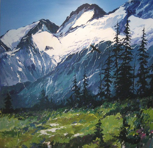 Whistler Mountain - Painting - Realism