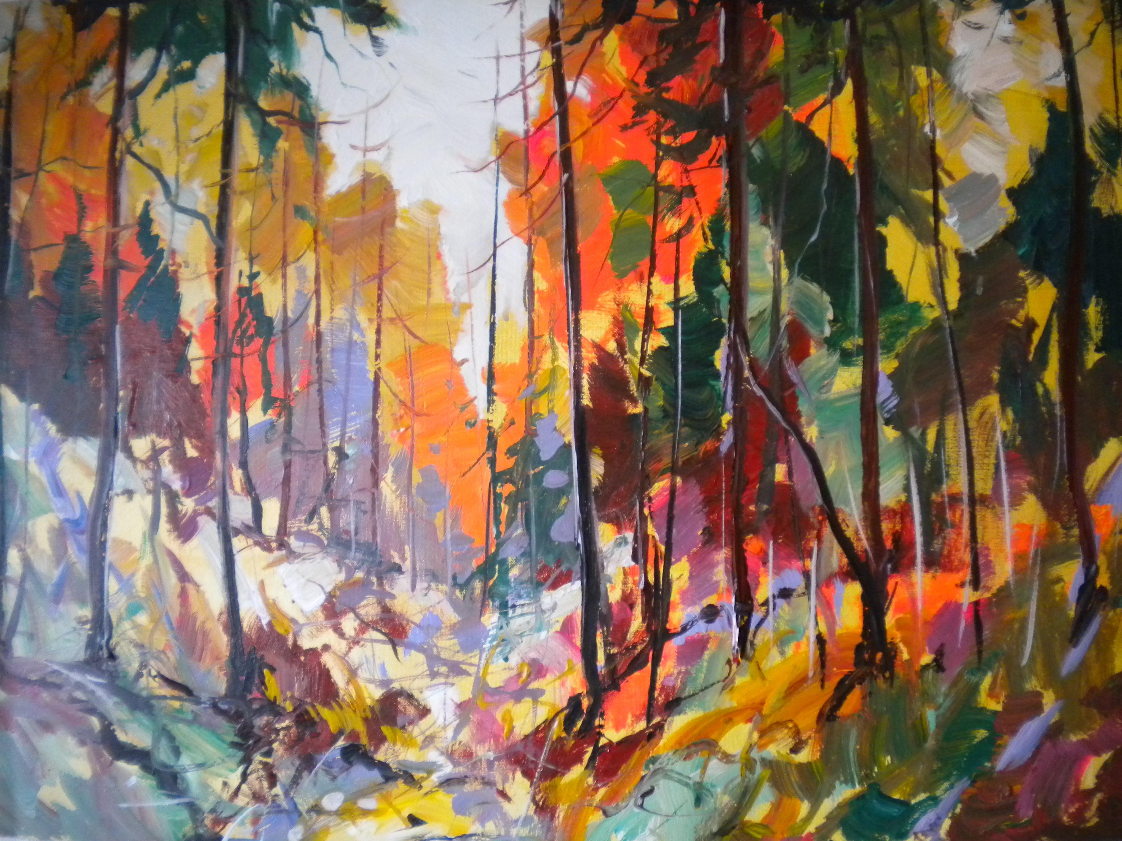 Painting Of West Coast Scene Paul Ygartua