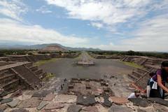 Pyramids of the Mayans (DigiPhotos) Tags: sky art history mystery clouds mexico ancient angle maya wide culture tokina mayan tokina116