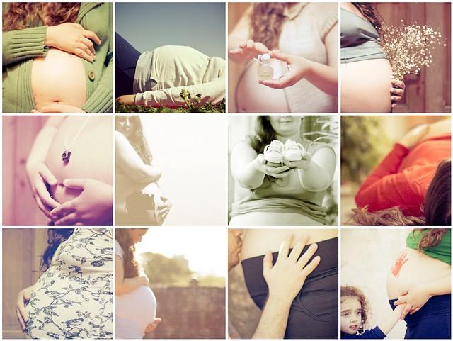Algunas del álbum de embarazo
