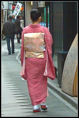 Geisha por la mañana
