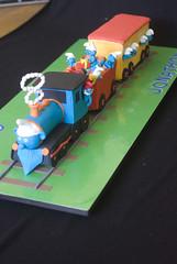 smurf express cake