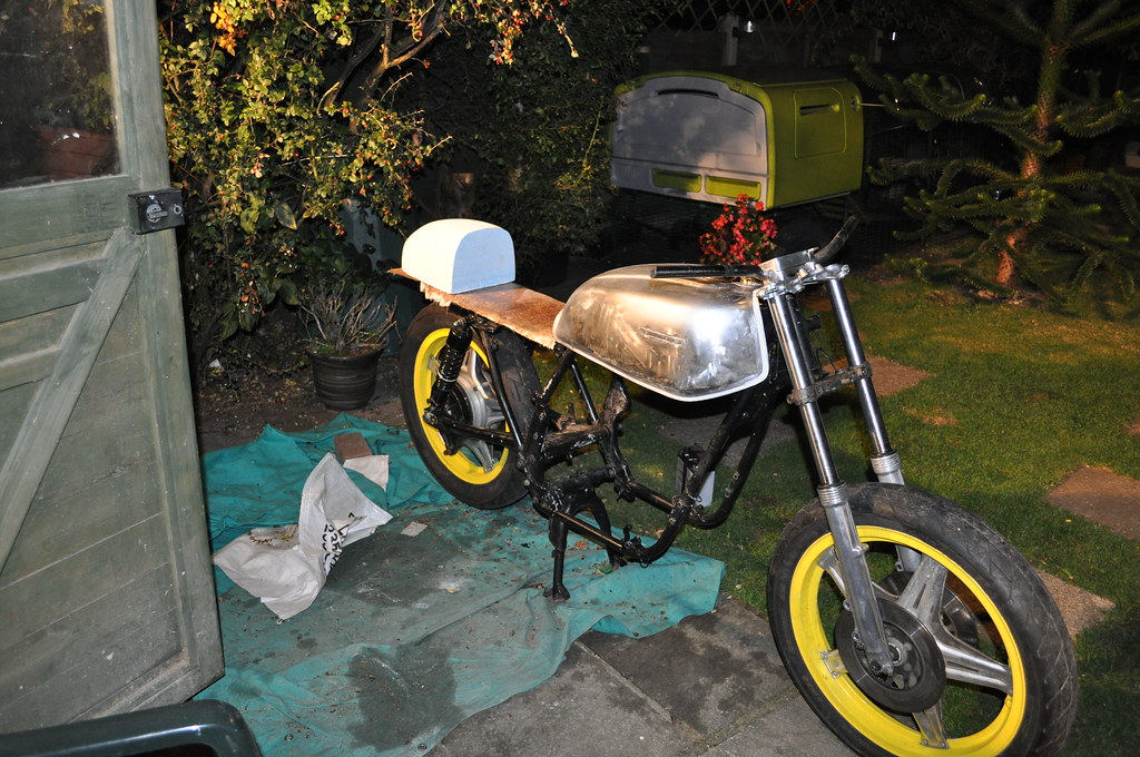 1st bike, 1st build CB650 6181904797_998fe336ab_b