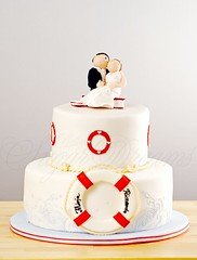 Love Boat (Bettys Sugar Dreams) Tags: wedding cake germany boot ship hamburg betty fimo alster hochzeit hochzeitstorte torte fondant sculpy torten rettungsring premo barkasse royalicing hochzeitstorten sugarpaste bettinaschliephakeburchardt bettyssugardreams eiweisspritzglasur