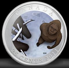 sasquatch coin