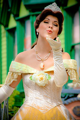 Belle (abelle2) Tags: princess disney parade disneyworld belle wdw waltdisneyworld magickingdom beautyandthebeast disneyprincess disneyparade celebrateadreamcometrueparade celebrateadreamcometrue
