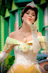 Belle (abelle2) Tags: princess disney parade disneyworld belle wdw waltdisneyworld magickingdom beautyandthebeast disneyprincess disneyparade celebrateadreamcometrueparade celebrateadreamcometrue