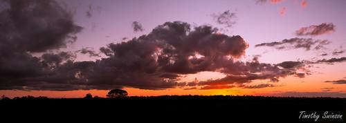 Sunset Over Toowoomba-3 Panorama