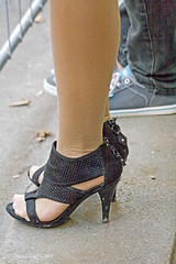Shoes make the woman. (pogomcl) Tags: street summer urban tourism public beauty fashion festival outside design clothing shoes perfume open prague boots modeling outdoor designer sandals models performance culture makeup style sunny oktoberfest clothes celebration entertainment footwear czechrepublic cosmetics society hairstyle liveperformance oldtownsquare catwalk streetfair hairdressers openair fashionweek staremesto winefestival footgear ragtrade fasionista livemodels pariszka modelingschool beutysalons
