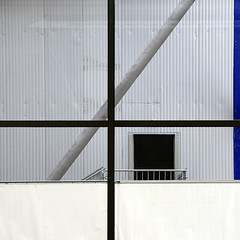 blue line (brancolina) Tags: door architecture facade photography blueline geometry variations windowframe brancolina
