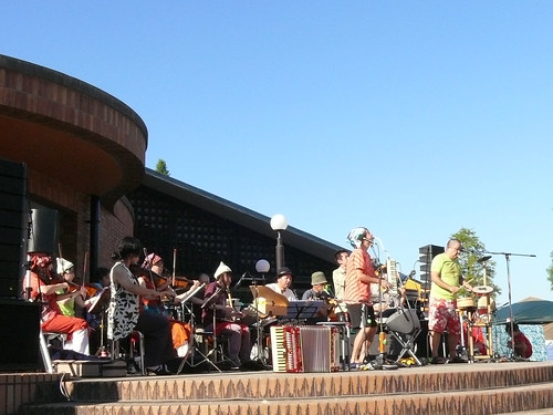 2011-09-24 信楽 滋賀県立陶芸の森 野外ステージ