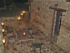 Terraza Por la Noche (brujulea) Tags: noche huesca casas por terraza jaca morada rurales castiello brujulea