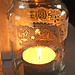 Coffee jar lantern