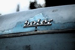 Boler (Evan Kemper) Tags: blue vancouver dof bokeh f14 olympus richmond konica trailer finn slough edit ep1 ep2 hexanon boler 57mm