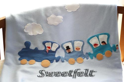 ♥♥♥ Mantinha quentinha para meninos... by sweetfelt \ ideias em feltro