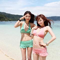 Layer sweet bikini