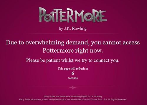 Pottermore wait
