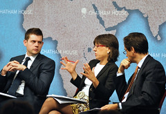 Matthew Goodwin, Paula Subacchi and Robin Niblett (Chatham House, London) Tags: chathamhouse internationalrelations internationalaffairs royalinstituteofinternationalaffairs