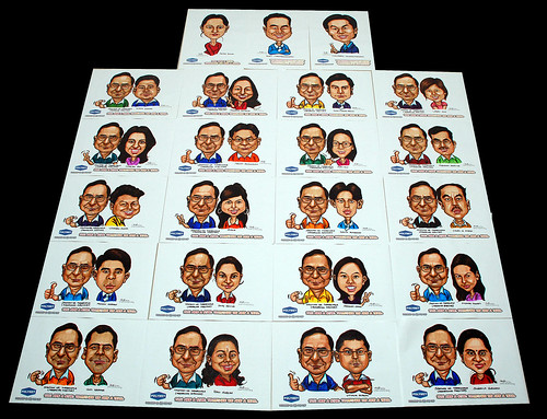 caricatures for Polymet