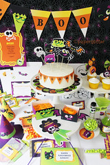 Text Editable Halloween Printable Party Kit (paperglitter) Tags: birthday party signs halloween hat collage kids paper children skull spider diy scary punk candy witch text gothic banner decoration craft creepy cupcake invitation kawaii owl downloads pdf ideas stationery template topper bunting printable editable customizable prsonalize