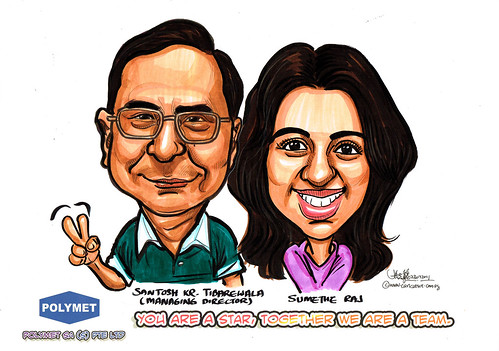 Caricatures for Polymet - 19